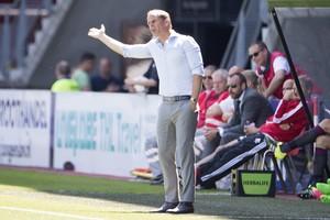 Ajax-trainer Frank de Boer © ANP