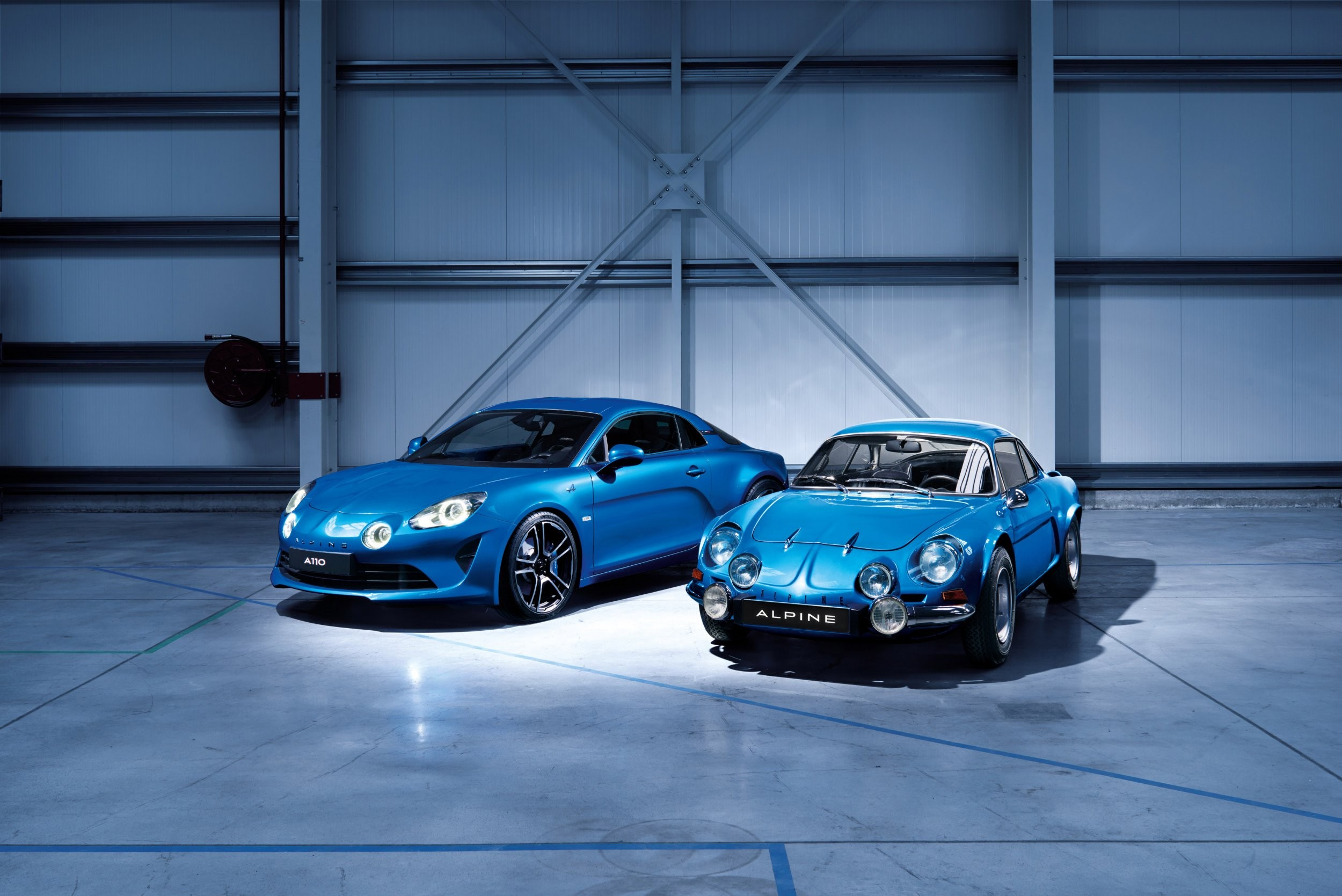 ALPINE A110 AND RENAULT ALPINE A110