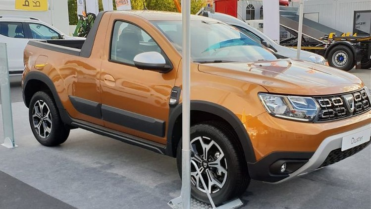Dacia Duster pick-up 4x4 2018 Romturingia 1