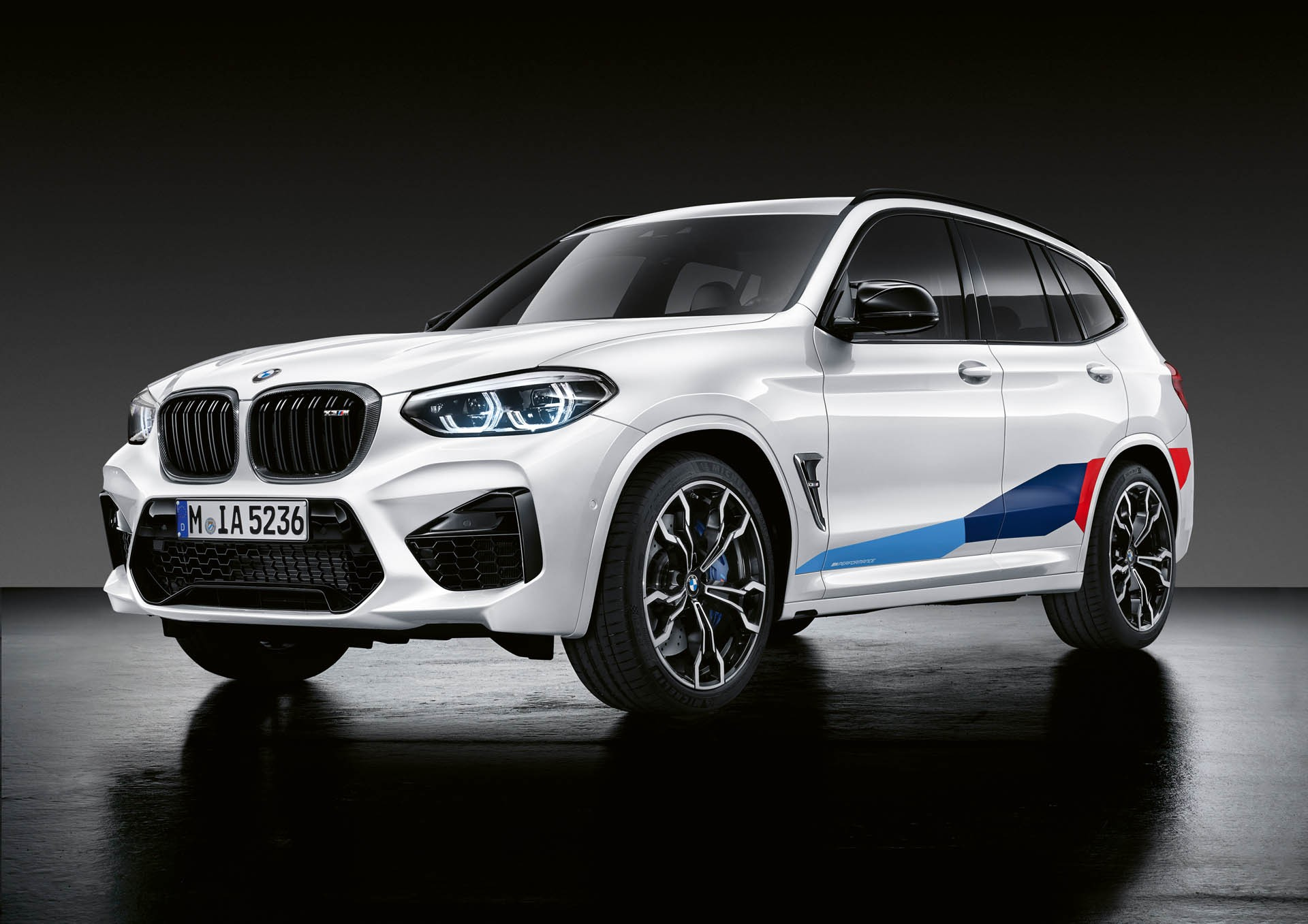BMW X3 M Performance-onderdelen