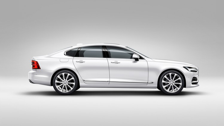 Profile Right Volvo S90 White