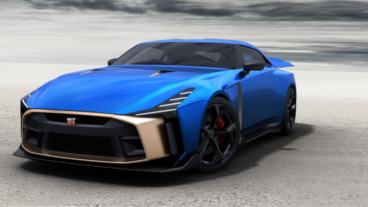 Nissan GT-R50 Production Version - Exterior Image 4-source