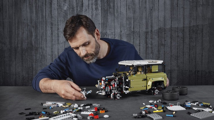 Land Rover Defender Lego