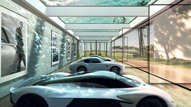 Aston Martin Automotive Galleries and Lairs
