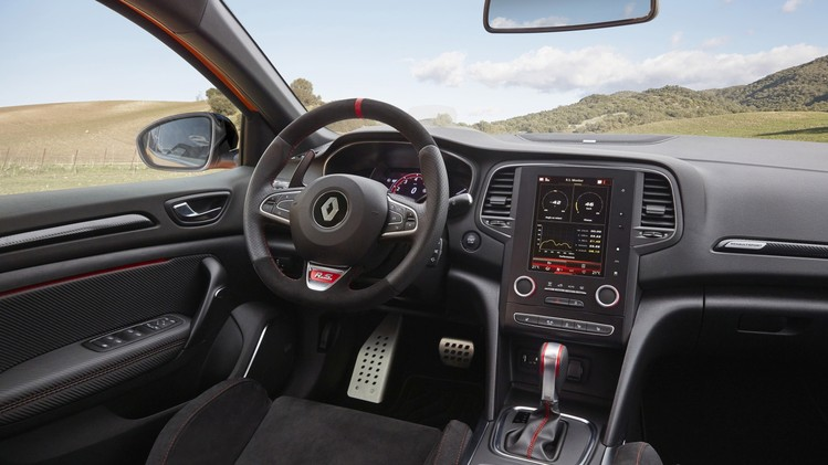 RENAULT MEGANE IV R.S. (BFB R.S.) TESTS DRIVE IN SPAIN