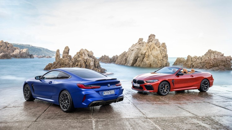 BMW M8 Competition Coupe en Cabrio