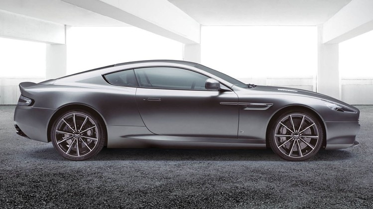 DB9 GT Bond Edition Side