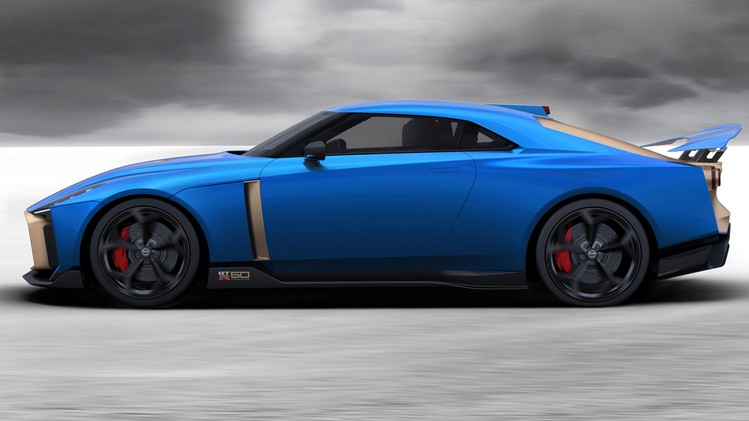 Nissan GT-R50 Production Version - Exterior Image 1-source