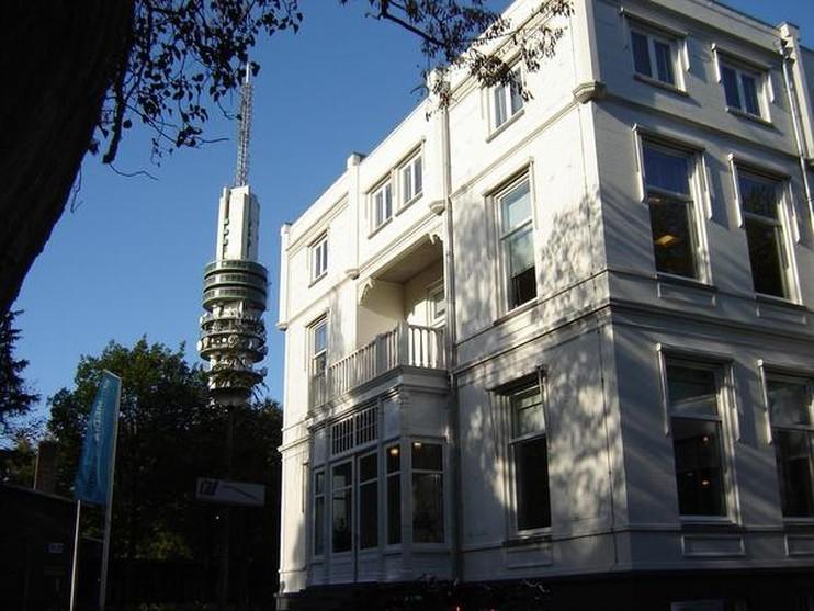 Villa Heideheuvel op het Mediapark is sinds tien jaar het onderkomen van de Media Academie.