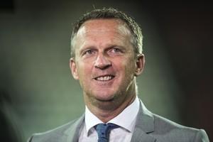AZ-trainer John van den Brom. © Hollandse Hoogte