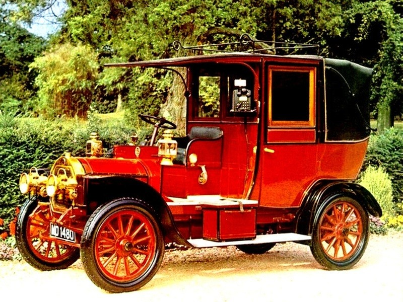 TAXI Unic 1214 HP Taxi 1908