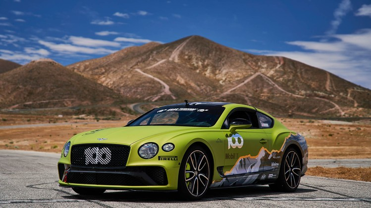 Bentley Continental GT Pikes Peak 2019
