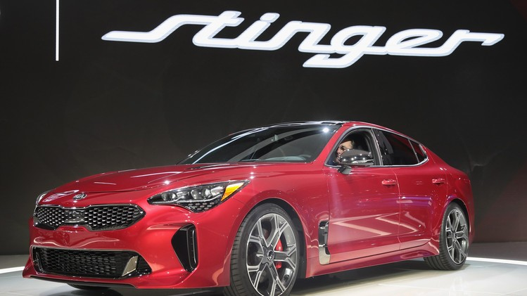 Kia Stinger GT North American International Auto Show Features Latest Car Models