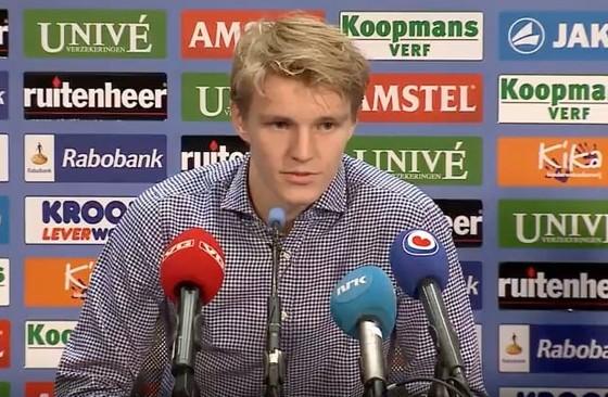 Martin Ødegaard © Screenshot Youtubekanaal SC Heerenveen