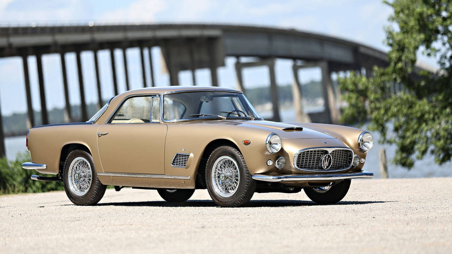 Maserati 3500 GT Elizabeth Taylor - Gooding and Company - Autovisie.nl - 1