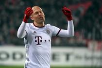 Arjen Robben weet dat de vorm van Bayern München nog beter moet. © Hollandse Hoogte.