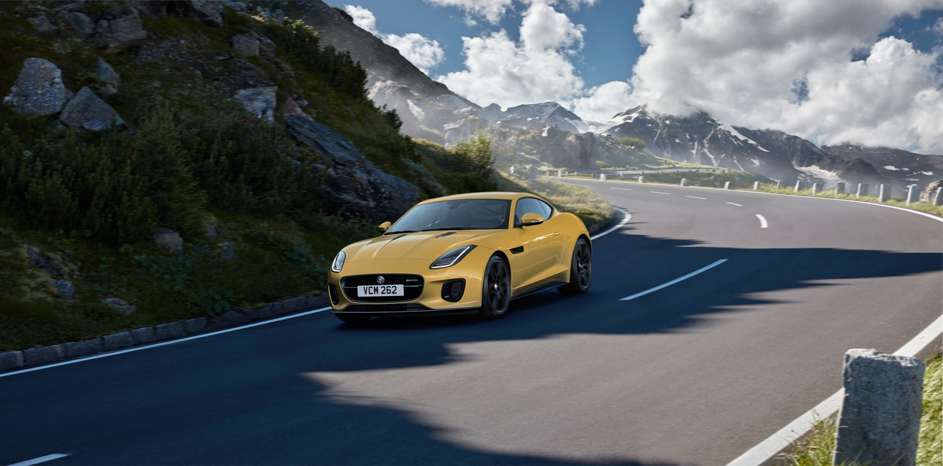 Jaguar F-Type Limited Edition Yunnan Yellow