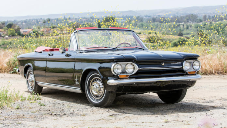 1963 Chevrolet Corvair Turbo Monza Spider
