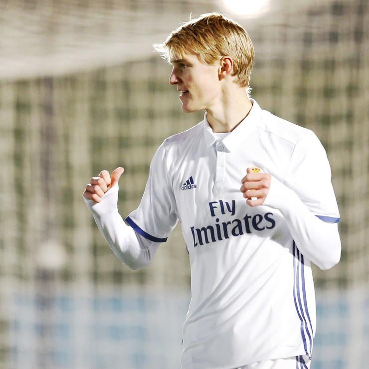 Martin Ødegaard is binnenkort te zien in het shirt van SC Heerenveen. © Hollandse Hoogte.